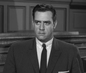 Raymond Burr as Perry Mason.