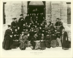 Bryn Mawr class of 1886, from the Woodrow Wilson Presidential Archives (CC)