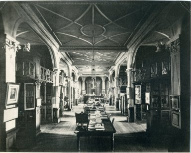 Wellesley Library, from the Wellesley Digital Archive