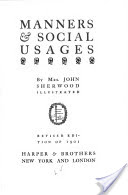 manners-social-usages-book