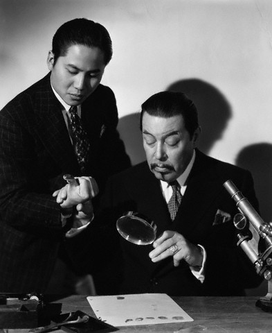 Warner Oland as Charlie Chan, by permission of corbisimages.com