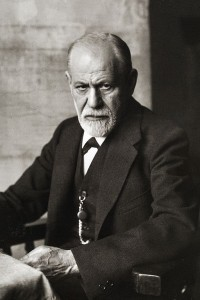 Sigmund Freud, circa 1920's. He first developed his theories in the 1890's.