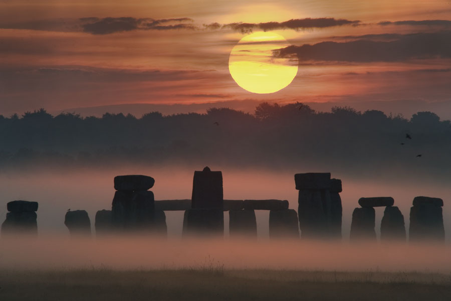 Summer Solstice at Stonehenge. Photo by Max Alexander, via NASA.gov.