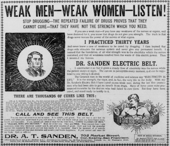 The San Francisco Call, November 27, 1898, via Chronicling America (Library of Congress).