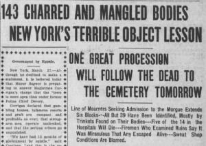 from The Daily Capital Journal, March 27, 1911.