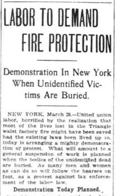 from The Washington Times, March 28, 1911.