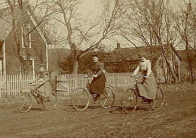 women bicycle