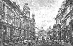California Street, San Francisco, 1900.  Wikimedia Commons.