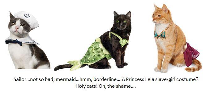 cat costume composite
