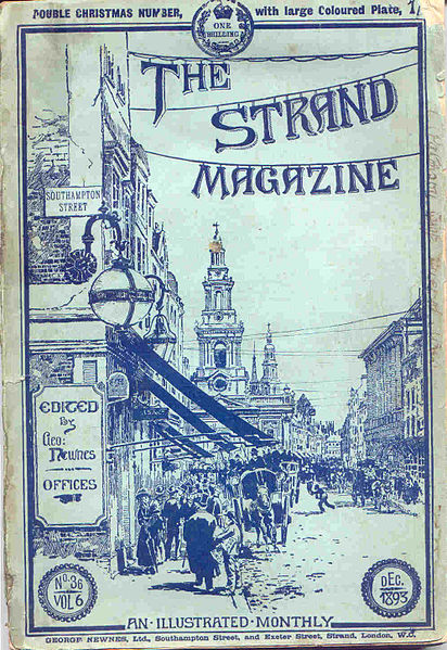 The Strand, December 1893. Image via wikimedia commons.
