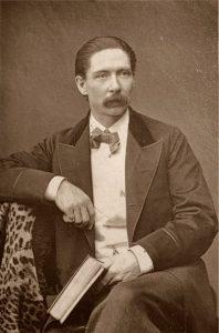 John Nevil Maskelyne, Carte de Visite Woodburytype - Print, wikimedia commons.